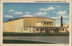 War Department Theatre, Camp Campbell Postcard