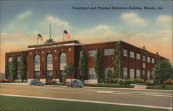 Vocational and Physical Education Building Postcard