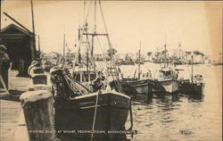 Fishing Boats at Wharf