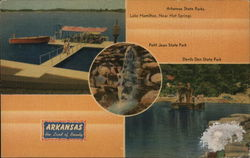 Arkansas State Parks - Lake Hamilton, Petit Jean, and Devils Den