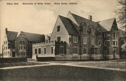 University of Notre Dame - Dillon Hall Postcard