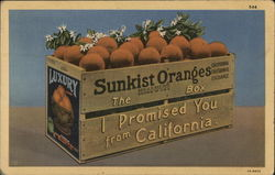 Sunkist Oranges - The Box I Promised You From California