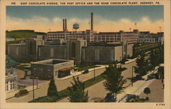 East Chocolate Avenue, The Post Office and the Huge Chocolate Plant