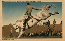Bill Linderman - Cowboys Championship Saddle Broncho Riding Contest