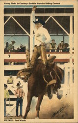 Casey Tibbs - Cowboys Saddle Broncho Riding
