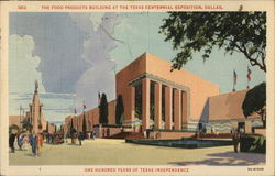 Food Products Building, Texas Centennial Exposition