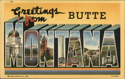 Greetings from Butte