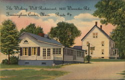 The Wishing Well Restaurant Postcard