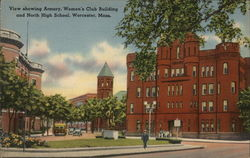 Armory, Womens Club Building and North High School
