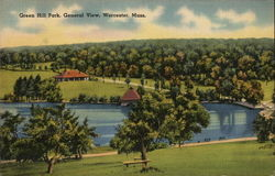 Green Hill Park Postcard
