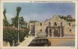 The Alamo and Old Court Yard
