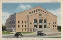 Gregory Gymnasium Auditorium, University of Texas