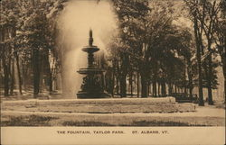 The Fountain in Taylor Park