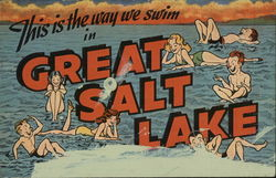 This Is The Way We Swim In The Great Salt Lake