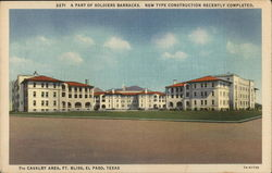 Soldiers Barracks, 7th Cavalry, Fort Bliss
