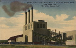 View of the Power House in One of the Process Areas