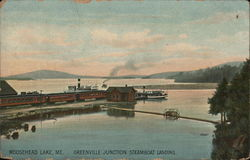 Greenville Junction Steamboat Landing, Moosehead Lake