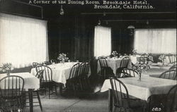 A Corner of the Dining Room, Brookdale Hotel
