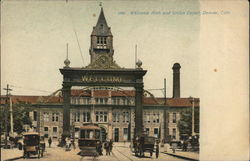 Welcome Arch and Union Depot
