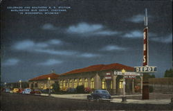 Colorado and Southern R.R. Station and Burlington Bus Depot