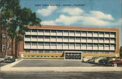 Saint Lukes Hospital Postcard