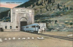 Moffat Tunnel Colorado