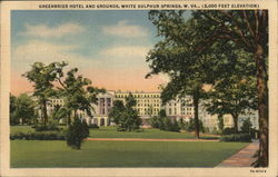 Greenbrier Hotel and Grounds