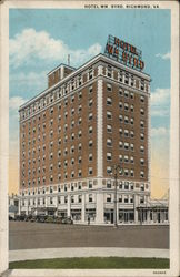 Hotel Wm. Byrd Postcard