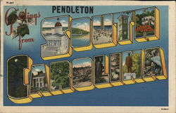 Greetings from Pendleton