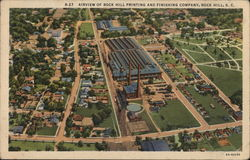 Airview of Rock Hill Printing and Finishing Company