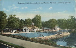 Sagmount Pools, between Joplin and Neosho, Missouri, near Camp Crowder
