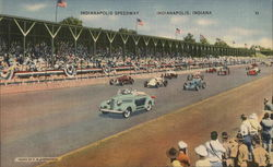 Indianapolis Speedway Postcard