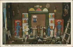 Powamu Altar of Hopi Indians, Fred Harvey Indian Building