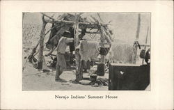 Navajo Indians' Summer House