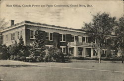 Main Office, Canada Power and Paper Corporation