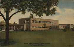Ferris Institute - Ferris West Building Postcard