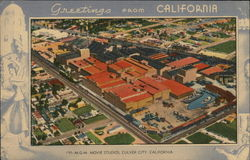 Greetings From California - MGM Movie Studios Postcard