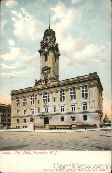 City Hall Paterson New Jersey