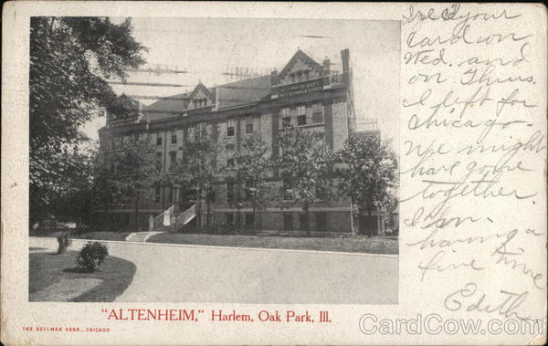 Altenheim Harlem Oak Park Illinois