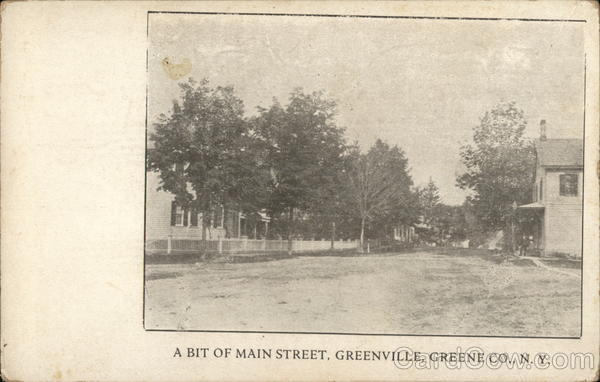 A Bit of Main Street Greenville New York