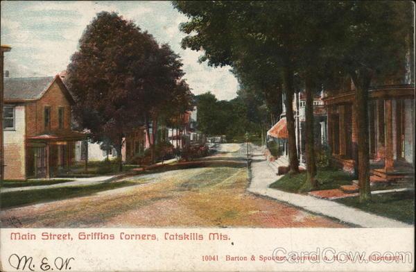 Main Street, Griffins Corners Catskills New York