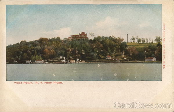 West Point, N.Y. From River New York
