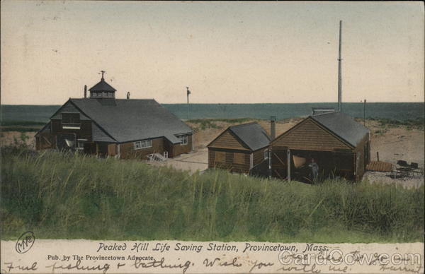 Peaked hill Life Saving Station Provincetown Massachusetts