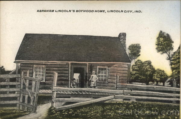Abraham Lincoln's Boyhood Home Lincoln City Indiana