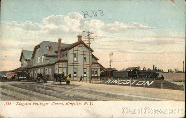 Kingston Passenger Station New York