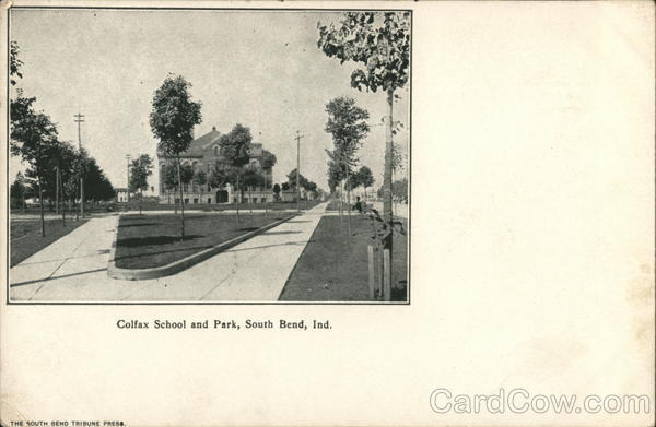 Colfax School and Park South Bend Indiana