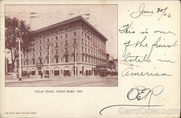 Oliver Hotel South Bend Indiana