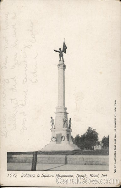 Soldiers & Sailors Monument South Bend Indiana