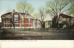 General view of Radcliffe College