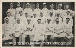 Boston Oyster House - Group of Cooks